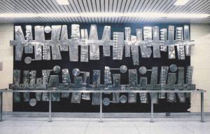 Subway Art , Toronto , Ontario , Canada , 50-60s ; Abstract Form