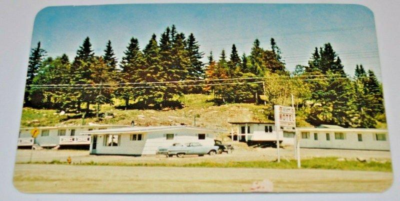 Beckett's Motel Kenora Ontario Highway 17 & 70 Kenora, East Lake of
