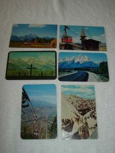 Jackson Hole WY - Lot Of 6 Great Vintage Postcards - x0514