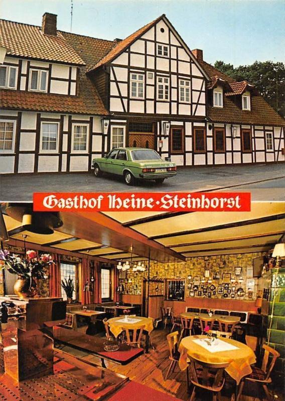 verschiedene Arten von geringster Preis neues Steinhorst ub. Celle Gasthof Heine Pension Hotel Auto Car ...