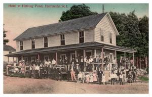 Rhode Island Harrisville , Herring Pond Hotel