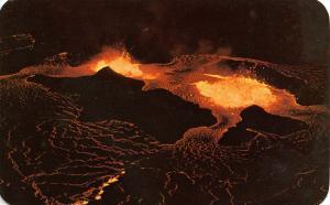 HI - Mauna Loa Volcano Eruption