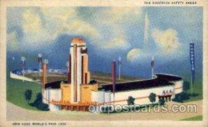 Goodrich Safety Arena New York Worlds Fair 1939 Exhibition 1945 light crease ...