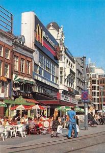 Netherlands Amsterdam Rembrandt Plein Street Market McDonald's