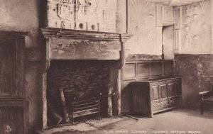 TUCK; CONWAY, Wales, United Kingdom, 1900-10s; Plas Mawr, Queen's Sitting Room