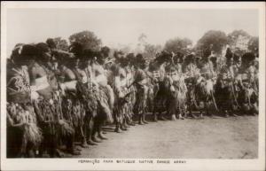 Ethnography Dance - Cape Verde? Batuque Native Dance Real Photo Postcard