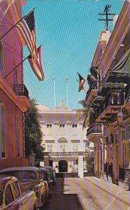 Puerto Rico San Juan Executive Mansion At Fortaleza Street