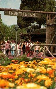 Disneyland Anaheim CA Frontierland Postcard used 1977