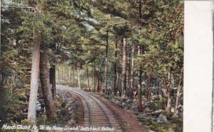 Pennsylvania Mau Chunk Switchback Railway On The Home Stretch