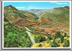 Arizona Switchbacks Salt River Canyon Postcard