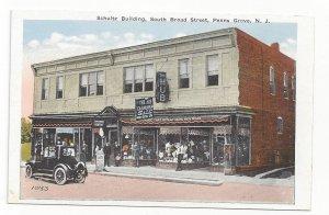 PENNS GROVE , New Jersey , 1910s ; Schultz Bldg Storefronts