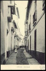spain, CORDOBA, Una Calle (ca. 1910)