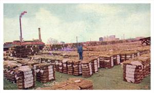 Oklahoma   Bales of Cotton, Cotton Compress