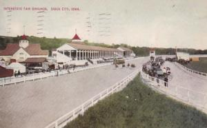 Iowa Sioux City Interstate Fair Grounds Horse Racing 1912