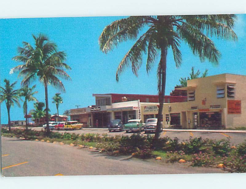 Pre-1980 RETAIL STORE SCENE Lauderdale By The Sea - Fort Lauderdale FL ho9924