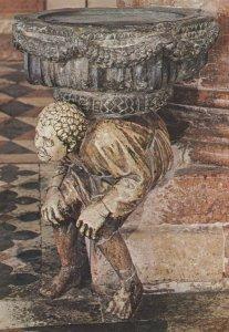 Italy Verona St. Anastasia Church The Hunchback Chiesa Vintage Postcard Italy