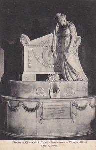 Italy Firenze Monumento a Vittorio Alfieri Chiesa di San Croce