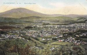 Aerial View of Claremont, New Hampshire, 1900-10s