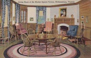 Living Room Of The Market Square Tavern Williamsburg Virginia