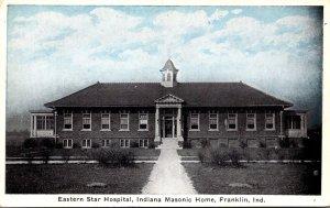 Indiana Franklin Eastern Star Hospital Indiana Masonic Home