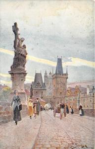 BT2260 socha sv luitgardu na kamenem moste praha prague prag   czech republic