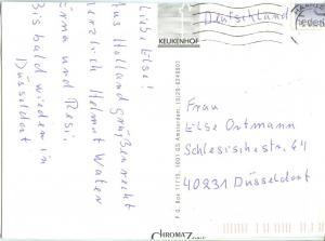 Holland, Netherlands, Keukenhof, 1994 used Postcard