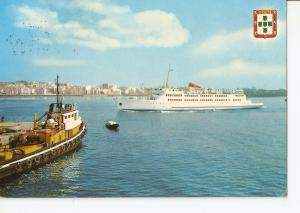 Postal 036678 : Ceuta. Salida del buque transbordador