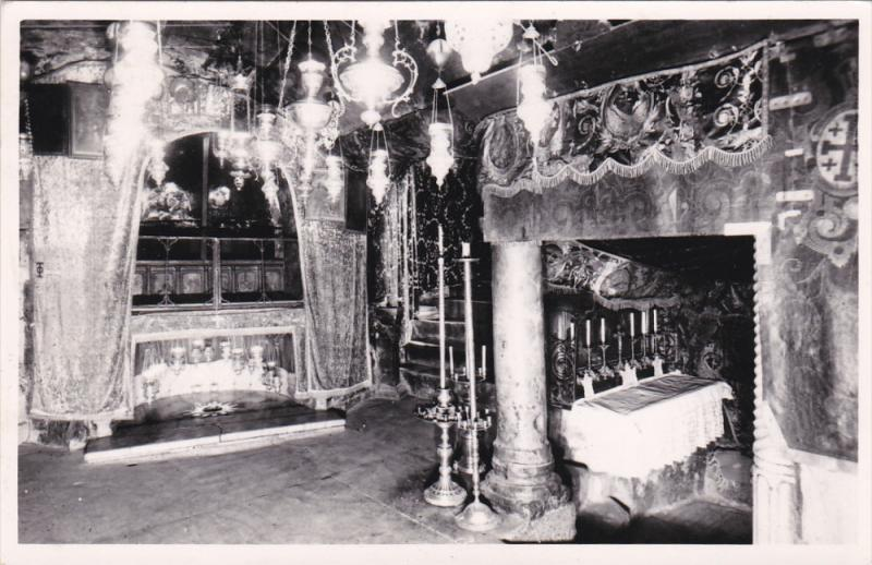RP, Place Of Nativity And Altar Of The 3 Kings, BETHLEHEM, Palestinian Territ...