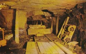 West Virginia Beckley Interior View Of Beckley Exhibition Mine