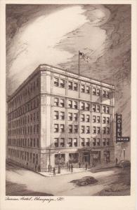AS: Inman Hotel, CHAMPAIGN, Illinois, 10-20s