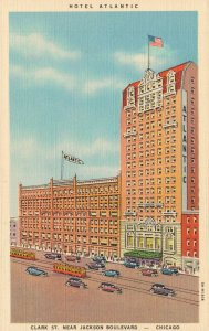 USA Hotel Atlantic Clark St. Near Jackson Boulevard Chicago 04.87