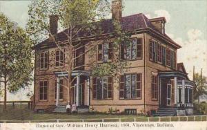 Indiana Vincennes Home Of Gov William Henry Harrison 1804
