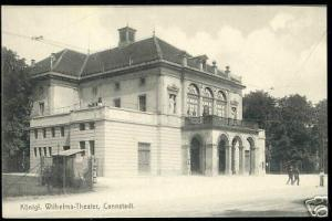 germany CANNSTADT, Königl. Wilhelma Theater 10s Theatre