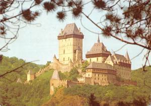 Czech R. Karlstejn statni hrad Burg Karlstejn Castle Chateau