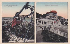Die erste Bergschwebebahn des Welt, Restaurant boschwitzhohe, Funicular Railw...