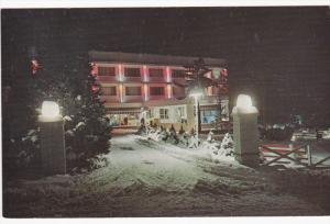 A Winter View of Mount Airy Lodge, MT. POCONO, Pennsylvania, 40-60's