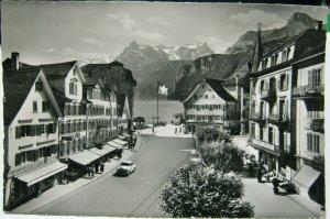 Switzerland Brunnen am Vierwaldtartersee etc - posted 1962