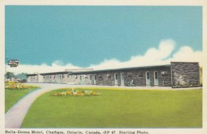 CHATHAM , Ontario , Canada , 1930s ; Bella-Donna Motel
