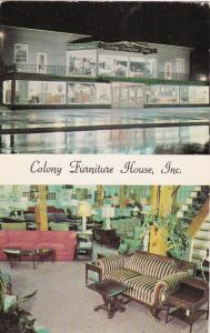 YORK , Pennsylvania , 50-60s; Colony Furniture House, Inc.  2-views