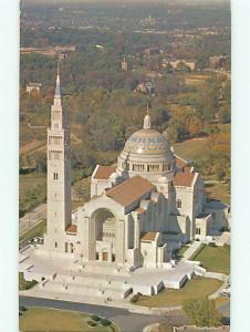 Shrine of Immaculate Conception Washington DC Latin Cross Christ Postcard # 7550
