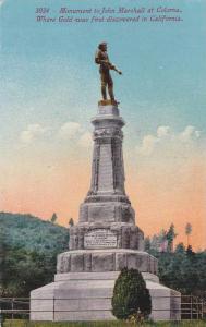 Monument to John Marshall at Coloma, California,  00-10s