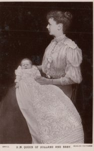 RP: H.M. Queen of Holland & Baby , 00-10s