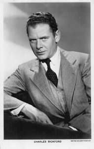 Charles Bickford Actor Cinema Moviestar Picturegoer Postcard