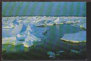 Abashiri in Winter Hokkaido Japan Postcard BIN