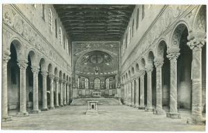 Italy, Ravenna, Basilica di S. Apollinare in Classe, unused Postcard