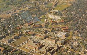 Lafayette IN Northwest View of Purdue University Campus~Ross-Aide Stadium 1950s
