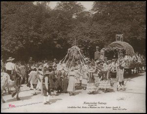 Austria 1908 Kaiser Franz Joseph Huldigungs Festival RPPC Thanksgiving Jos 94844