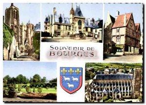 Modern Postcard Souvenir de Bourges
