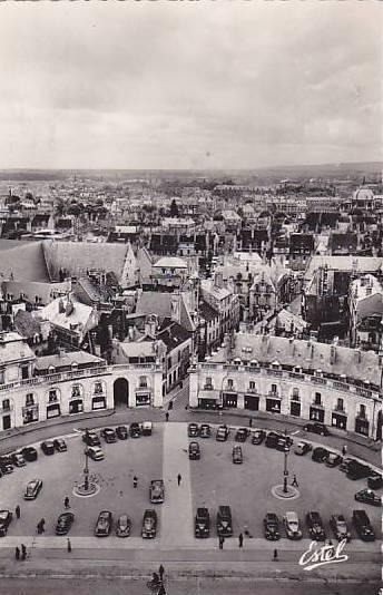 RP; DIJON, View of the Liberation Place, Cote d'Or, France, 00-10s