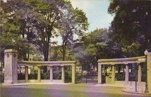 Canada Roddick Memorial Gates McGill University Montreal